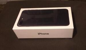 NEW! Apple iPhone 7 Plus - Black - 256GB Storage Capacity - Completely Unlocked