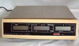 Scales Avery Berkel A601 Retail Scales Min 100gm Max 15kg