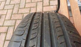 "Hankook Optimo K415 tyre 225 50 17"" 7mm tread depth"