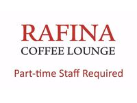 Waiter/Waitress/Coffee Maker - Part-time Staff Required