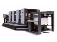 Used HEIDELBERG SM 102 V , MOV - H , SM 72 V Sheet fed Offset Printing Machine