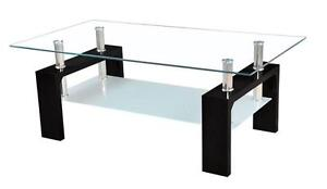 NEW YEAR SPECIALS ON NOW GLASS COFFEE TABLE JUST $99  WHILE QUANTITIES LAST