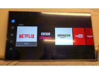 """Hisense H65M5500 65"""" Smart Flat LED TV WiFi 4K UHD Freeview HD Silver"""