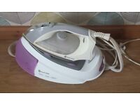 Russell Hobb steam generator iron & ironing board