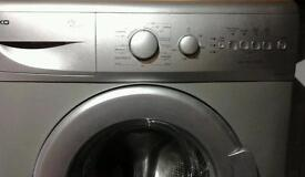 Beko washing machine in good working order. Can be seen working.