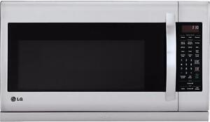 Micro-ondes Hotte Intégrée de 2,0 pi³ Stainless LG ( LMV2055ST )