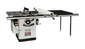 KING INDUSTRIAL 10 In. Extreme Cabinet Saw W/ 50 Rip