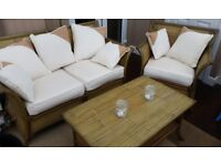 Beautiful Bamboo Conservatory Furniture Set