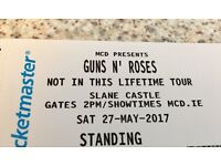 Last One, GUNS N ROSES ticket for sale,