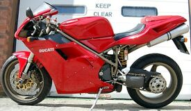 1999 DUCATI DUCATI 996 BIPOSTO RED