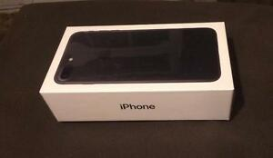 NEW! Apple iPhone 7 Plus - Black - 256GB Storage Capacity - Completely Unlocked by Apple (CA)
