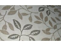 Beige Flatweave Floral Rug 120cm x 170cm. Collection from OL6 6RE.