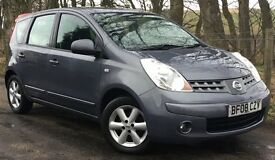 Nissan Note 1.5 DCi Diesel Acenta 5 Door Hatchback **FEBRUARY SALE ALL PRICES REDUCED**