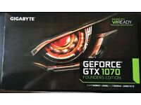 Gigabyte Nvidia GTX 1070 Founders Edition 8GB GDDR5 Graphics Card