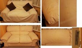 2 seat sofa - Italian made (+Free 3-seater sofa available)