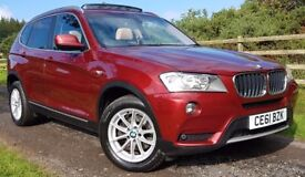 BMW X3 2.0 DIESEL 4X4 AUTOMATIC. HIGH SPECIFICATION