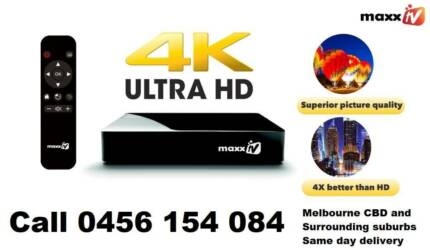 Maxx Tv Box 4K Ultra HD (New Box and Recharge)