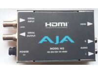 Video and Audio Converter AJA .Model as photo. It is in good order conditions.