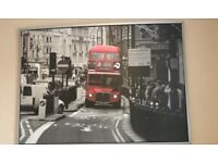Ikea London bus canvas