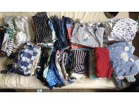 Huge bundle of baby boy clothes 3-6 months