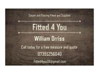 Carpet and flooring fitter
