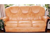 Wanted : A Leather sofa and, or, 2 armchairs.....
