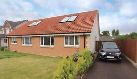 Immaculate 2 bedroom Semi-Detached Bungalow For Rent, Culduthel Farm, furnished or unfurnished
