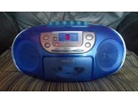AIWA Stereo Portable CD/Radio/Cassette Recorder CSD-A340