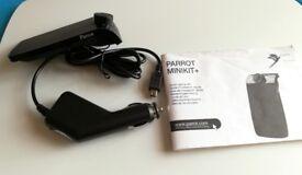 Parrot Minikit+ Plus Wireless Hands-Free Bluetooth Car Kit For Mobile Phones