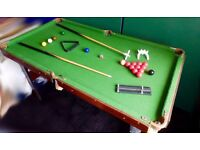 Junior Pool & Snooker Table