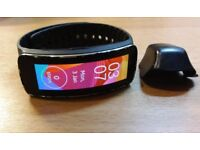 Samsung SM-R350 Gear Fit - Black - Fitness Tracker - Smart Watch