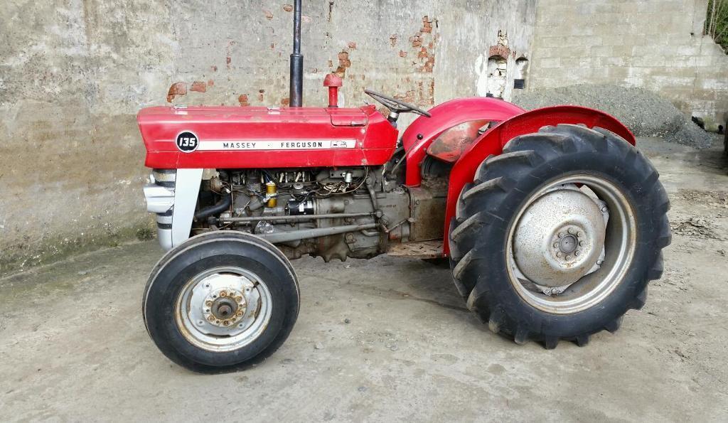 1966 Massey Ferguson Tractor : Massey ferguson petrol original we tractor