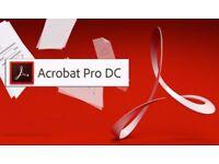 Adobe Acrobat Pro CC 2017 Windows/MAC