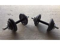 20kg cast iron Dumbbell Weights