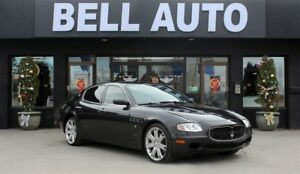 2007 Maserati Quattroporte LEATHER SUNROOF SEAT MEMORY