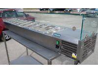 catering equipment / POLAR (countertop) SANDWICH / PIZZA prep unit (2m) fridge