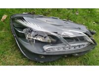 mercedes E class w212 headlight facelift lift light passenger side driver led H7 212