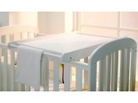 East Coast Cot Top Changer (White) - BRAND NEW
