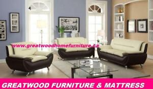 MODERN STYLE 2 PIECE SOFA SET  FOR $799