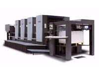 For Sale HEIDELBERG SM 102 V , SM 102 F , SM 72 S L offset printing machine