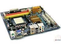 GIGABYTE GA-MA78GM-S2H + AMD Athlon X2 4850e + 2GB (2x1GB) 800Mhz DDR2 RAM
