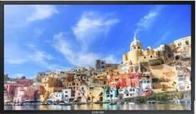 Samsung DM82E-BM 82 Inch Edge Lit LCD Hybrid/Infrared 10-Point Touch Screen Display