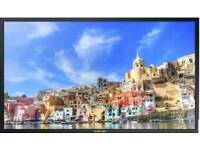 Samsung DM82E-BM 82 Inch Edge Lit LCD Hybrid/Infrared 10-Point Touch Screen Display