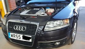 Audi A6 Quattro, Diesel, only 64k miles. Sat Nav, Leather seats. Immaculate condition.