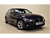 BMW 3 SERIES 2.0 320D EFFICIENTDYNAMICS 4d 161 BHP + 1 OWNER + (blue) 2013