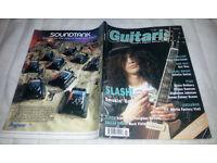 Vintage Guitar Magazines Featuring Slash: Guitarist July 1992 and The Guitar Magazine November 1991