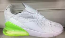Brand new Nike 270s 2 colours sizes 7-11