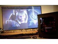 Streaming/Gaming PC i7-5820K,X99,GTX1070, 16GB ram, 120GB SSD, 2TB hdd,gold PSU, Penta, Fractal case