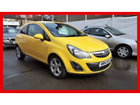 2014 Vauxhall Corsa 1.4 i 16v SXi 3dr --- Very Low miles --- yellow in fashion --- alternate4 fiesta