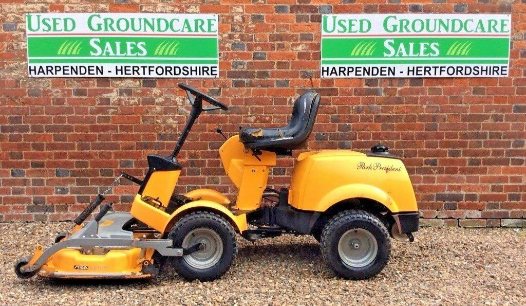 Stiga Park President Ride on Mower